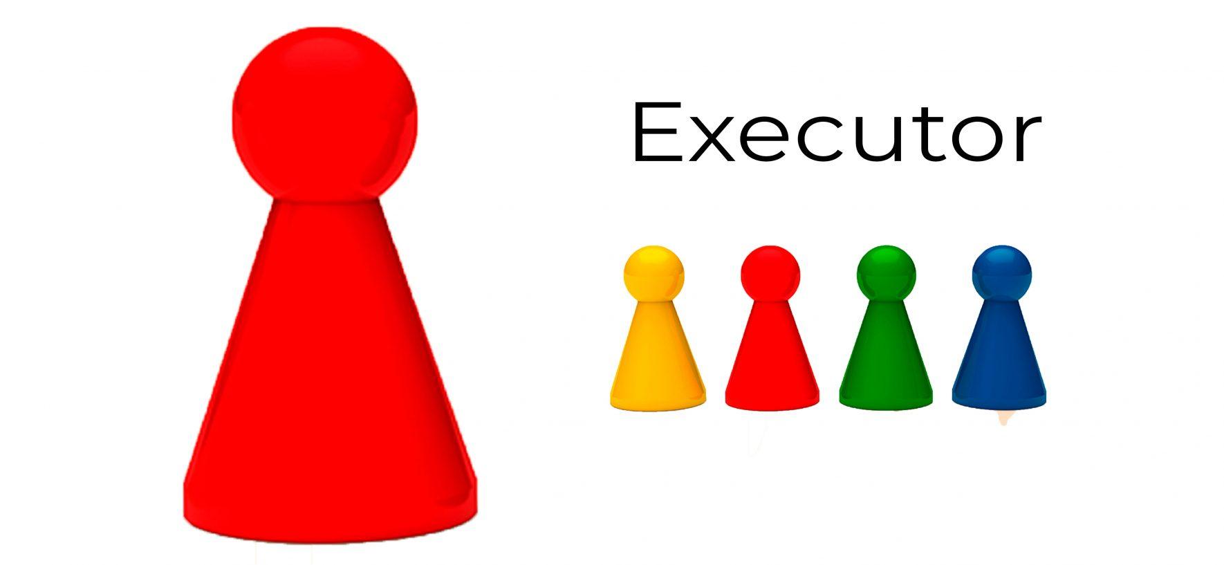 Como Gerir o Perfil Executor